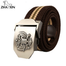 Buy Russian National Emblem Canvas 2017 Fashion Mens Canvas Belt Buckle Metal Tactical Belt Men Strap Belts Canvas Belts 110cm for $7.02 in AliExpress store