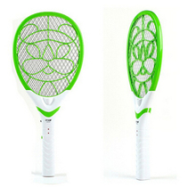 New 2015 Electric Summer Mosquito Swatter Rechargeable Insect Bug Fly Killer Net Swatter Racket with LED Flashlight Dropshipping()