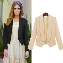 2015 Brand New Excellent Quality European Style Ladies Blazer Womens Jacket Coat Free shipping