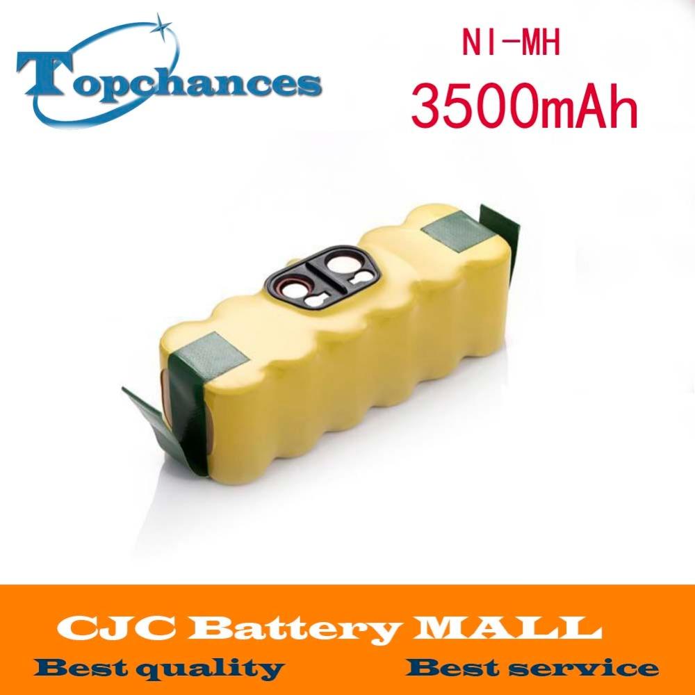 14.4V 3500mAh Ni-MH Battery for iRobot Roomba Vacuum Cleaner for 500 560 530 510 562 550 570 581 610 650 790 780 532 760 770(China (Mainland))