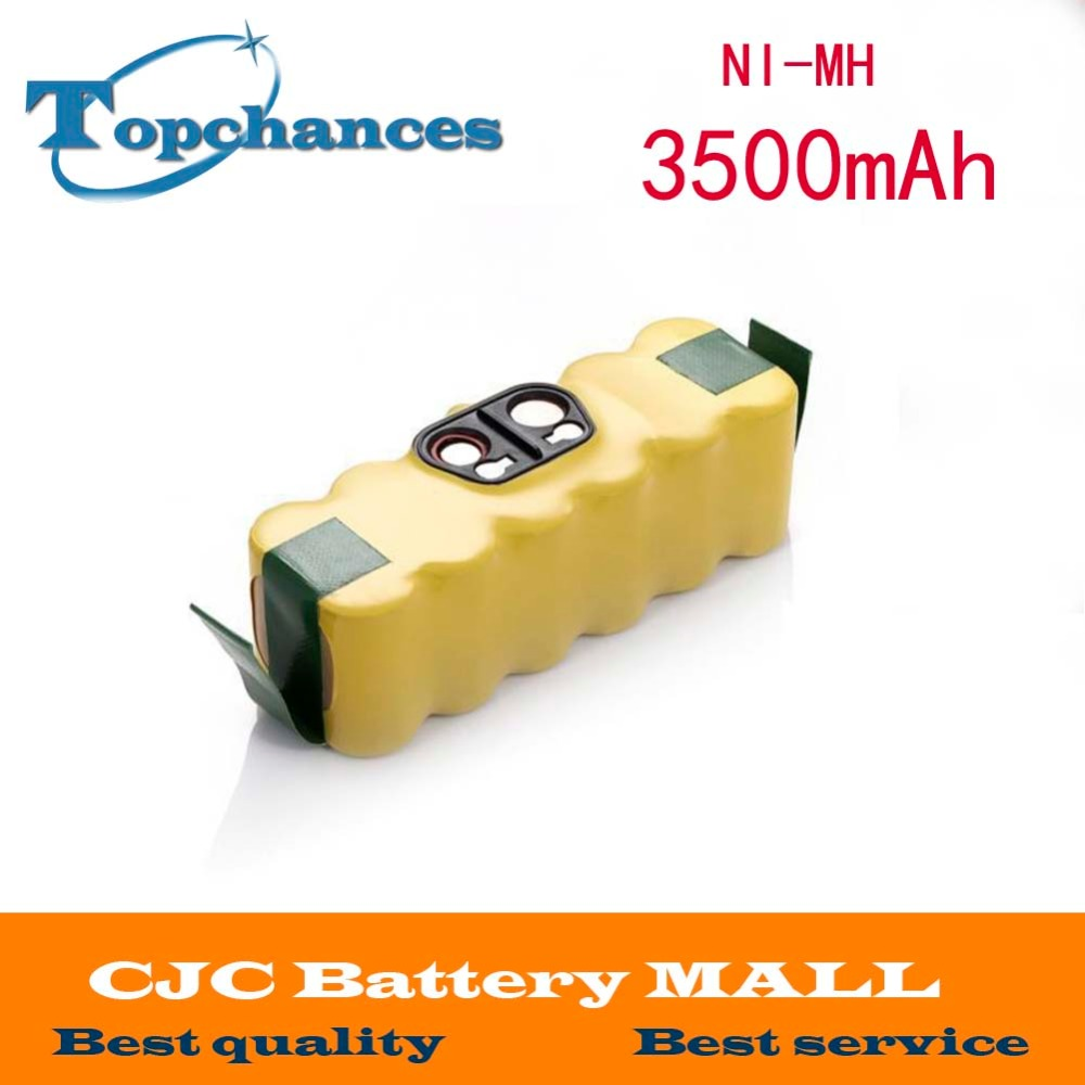 14.4V 3500mAh Ni-MH Battery for iRobot Roomba Vacuum Cleaner for 500 560 530 510 562 550 570 581 610 650 790 780 532 760 770(China (Mainland))