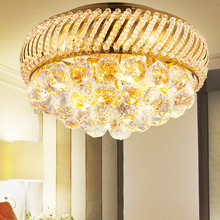 luxury crystal Ceiling lamp Bed room Ceiling Lights aisle lights crystal Modern Ceiling lights 45 CM ( 17.8 Inch ) Diameter(China (Mainland))