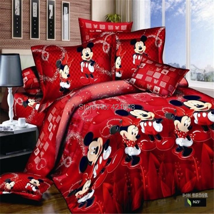 Compra Minnie Mouse Juegos De Cama Online Al Por Mayor De