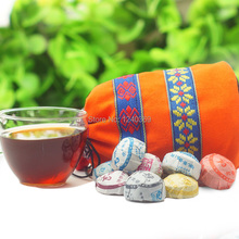 50 different flavors Yunnan Pu er tea slimming tea gift wrap Free shipping