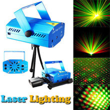 Mini LED Laser Pointer Disco Stage Light Party Pattern Lighting Projector Show