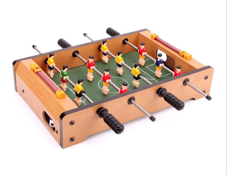 Direct selling MDF Children's Soccer Tables Mini table football Desktop football toys Free shipping(China (Mainland))