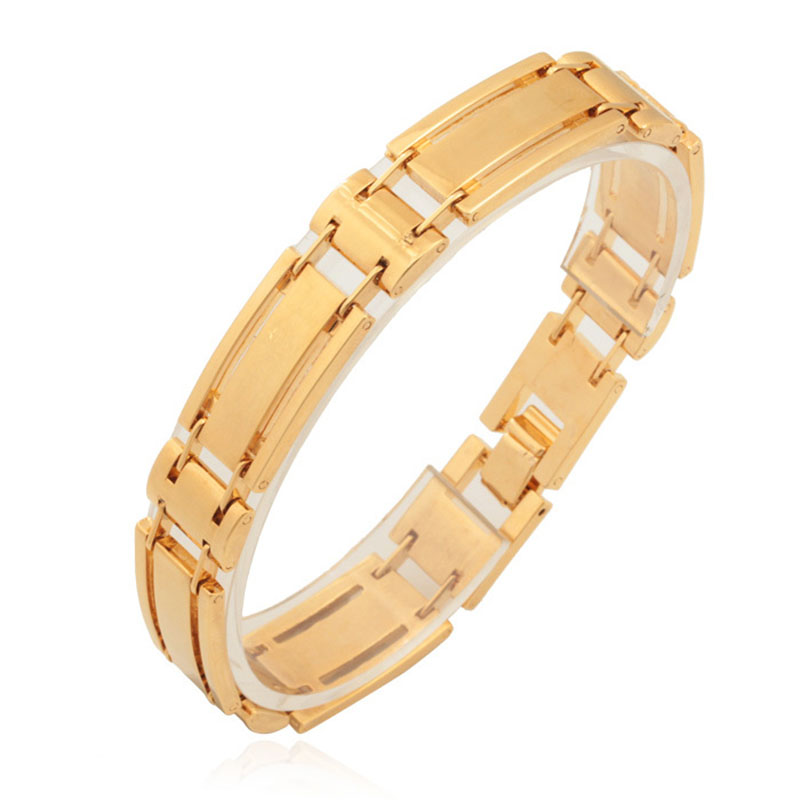 Bangles Bracelet Men New Trendy Brand Vintage 18K Gold Plated High Quality Jewelry For Men \ Women Brand Accessories H742(China (Mainland))