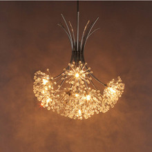 New design Dandelion light dining room crystal chandelier free shipping Dia500mm*H750mm(China (Mainland))