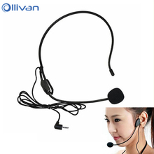 2017 Mini Microphone microfone condensador microfono For Voice Amplifier Speaker Professional Stand Wired Headset Microphone(China (Mainland))