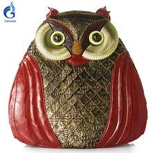 Gamystye 2016 women owl style bags Shoulder Bag ART bags for girl Retro Handmade Bolsa Feminina Ladies owl style bags Black(China (Mainland))
