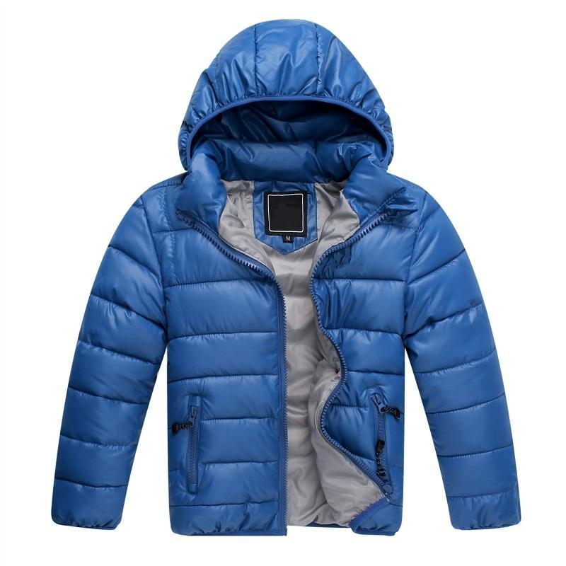2016 New Free shipping High Quality Retail Childrens Winter Down Jackets Baby Down Coat Boys Outerwear Thickening Retail(China (Mainland))