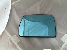 Buy Left side car wing mirror glass B MW X5 E53 99-06 blue glass heated LH for $16.99 in AliExpress store