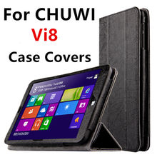 Case PU For Chuwi Vi8 Protective Smart cover Protector Leather Tablet PC For CHUWI Vi8 Vi 8 Sleeve 8 inch Cases Covers