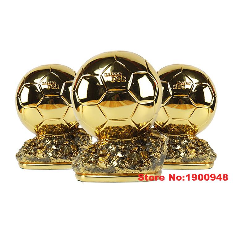 World Golden Globe Cup Ballon D'OR Trophy Award Scale Football Soccer Souvenirs Soccer Match Award Collectibles to Soccer Fans(China (Mainland))