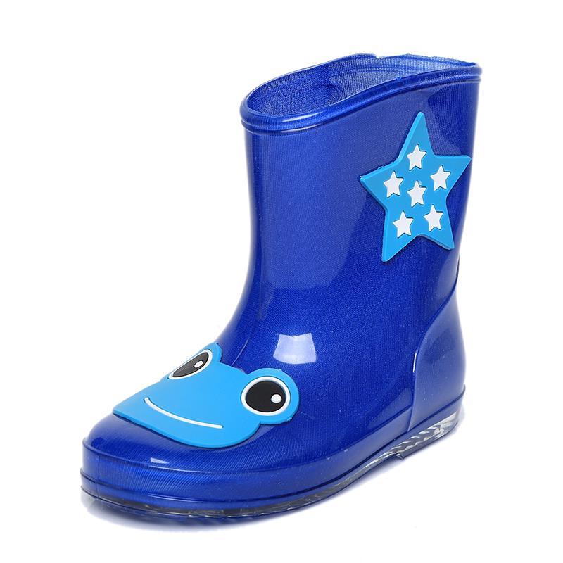 2015 children new girls fashion boots  boy  drum water shoes cartoon  baby galoshes antiskid rubber boots children's shoes