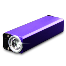 Skyfire fluorescence detection, portable rechargeable lamp light purple jade counterfeit identification UV flashlight(China (Mainland))