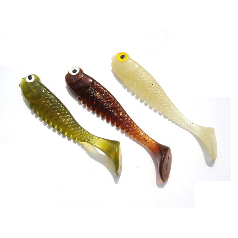 Aliexpress.com : Buy Fishing Lure Soft Bait 3D Tails ...