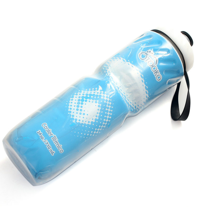 Fashion and Sport Cycling Pressing Outdoor Sports Cycling Camping Bicycle School Plastic Flask Water Bottle 710Ml(China (Mainland))