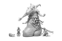 Naked Experiment of Death Resin Model kit Free Shipping(China (Mainland))