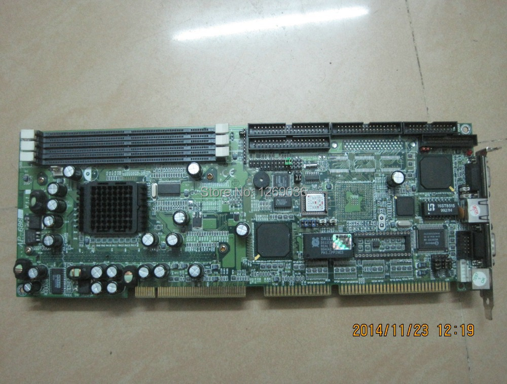 AP-686 SLOT1 architecture, integrated graphics, INTEL card Industrial Motherboard(China (Mainland))