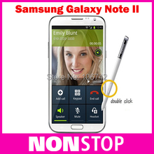 N7100 Note2 Original Samsung Galaxy Note II n7100 N7100 5.5'' Touch Screen cellphones 8MP camera GPS Android 4.1 Refurbished(China (Mainland))