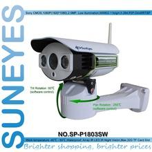 SunEyes SP-P1803SW 1080P Full HD Pan/Tilt IP Camera Wireless Outdoor Wifi Support Micro SD Card Slot