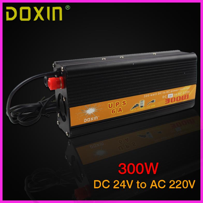 UPS DC To AC 024V 220V Car Power Inverter 300W Universal ST-N026 car battery charger<br><br>Aliexpress