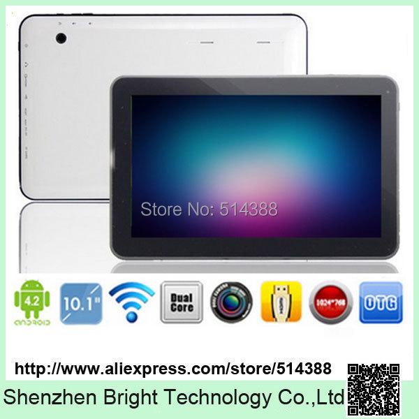 New Arrival 10 inch Allwinner A23 Daul Core Cortex A8 1.5Ghz android 4.2 6000mah Big Battery 1GB/8GB dual camera WIFI(China (Mainland))