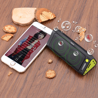 Outdoor Bluetooth Speaker with LED Flashlight Power Bank TF Card Reader For Smartphone/MP3/Outdoors/Shower/Handsfree Calls