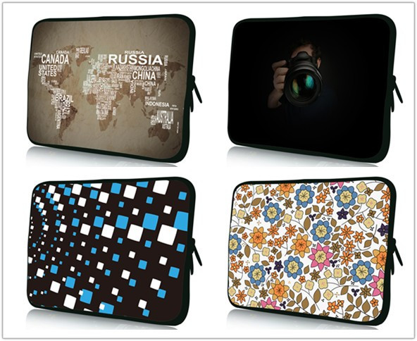 """7""""10""""12""""To15""""17""""inch Multi-size laptop bag New tablet computer bag neoprene protective sleeve netbook For computer accessories(China (Mainland))"""