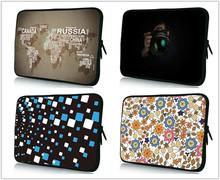 """7 """" 10 """" 12 """" To15 """" 17 """" pouces Multi - taille sac d'ordinateur portable nouvelle tablette informatique sac néoprène housse de protection netbook pour ordinateur accessoires(China (Mainland))"""