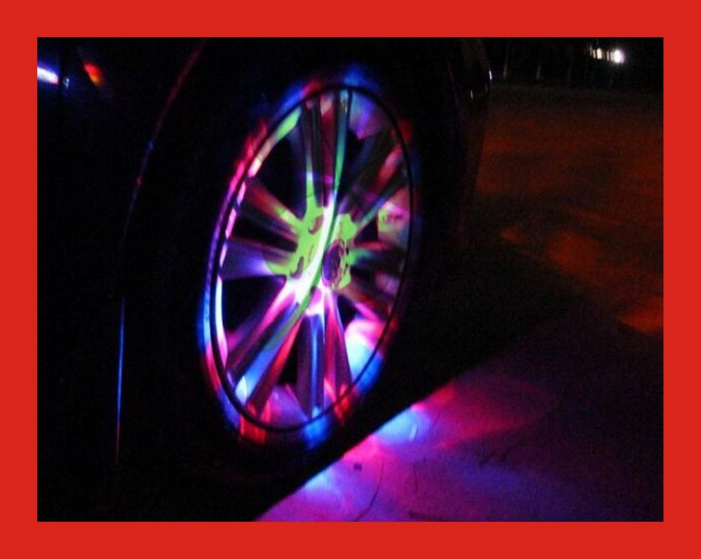 Car Auto 4 Modes LED Tire Wheel Lights Solar Energy Car Flash Wheel Tire Tyre Light Lamp LED Wheel Decoration Hub Lighting<br><br>Aliexpress