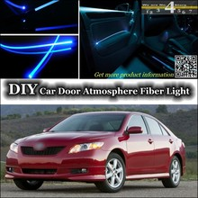 Buy TOYOTA Camry V XV interior Ambient Light Tuning Atmosphere Fiber Optic Band Lights Inside Door Panel illumination Tuning for $22.35 in AliExpress store