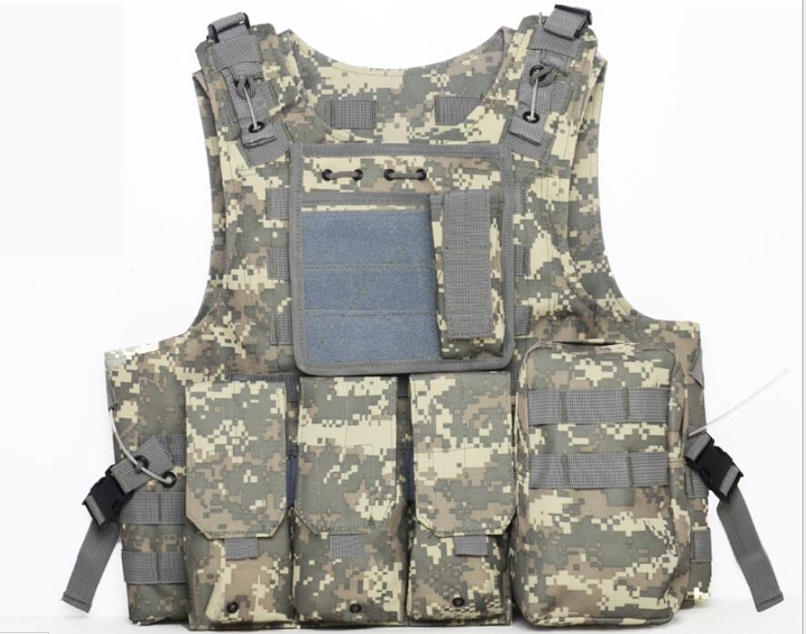USMC Airsoft Tactical Military Molle Combat Assault Plate Carrier Vest Tactical vest CS clothing Military tactics material