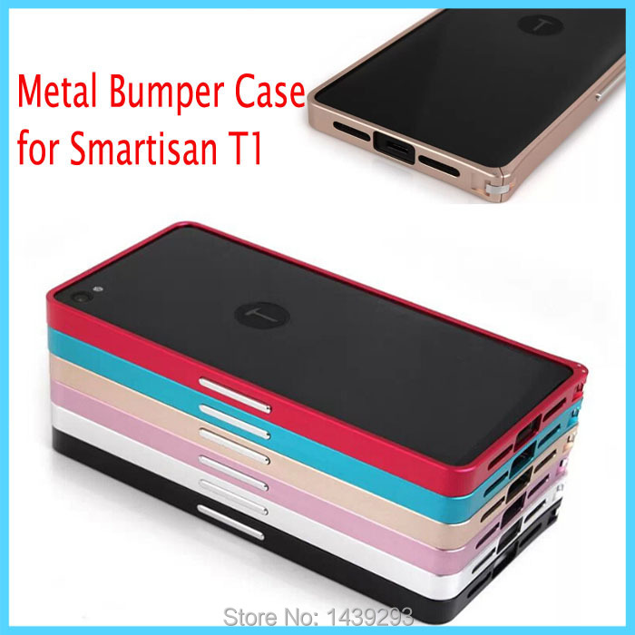 Luxury Smartisan T1 Metal Bumper Buckle Case Cover for Smartisan T1 Ultrathin Aluminum Alloy Frame Cover Protective Case