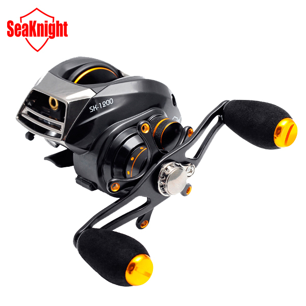 SeaKnight Brand SK1200-L 13+1 BB Two Brake System Left Hand Bait Casting Baitcasting Fishing Reel Fish Wheel(China (Mainland))
