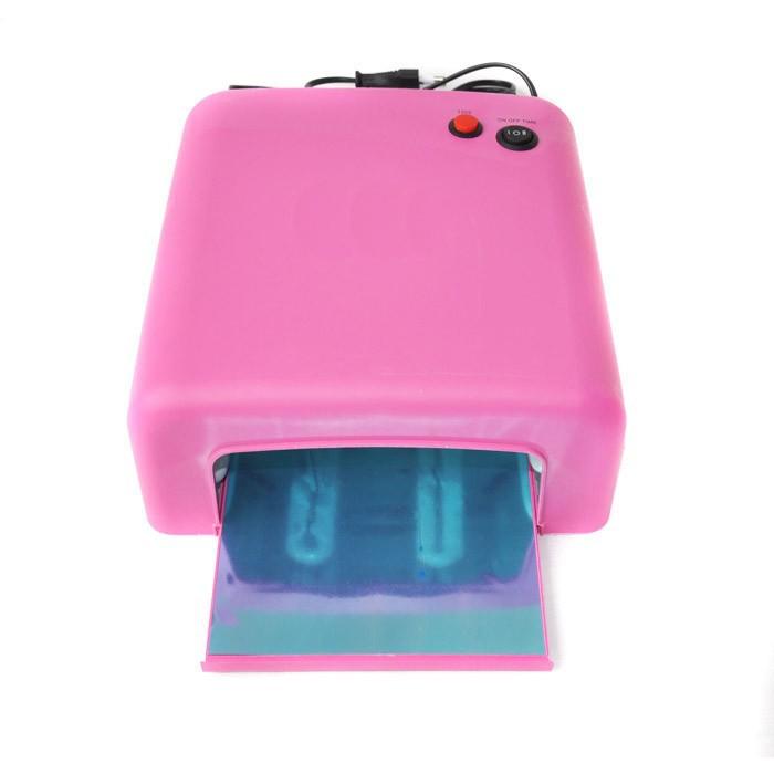 36w 220v гель отверждения лак УФ-лампа с 4шт 9w 365nm лампа для ногтей гель сушилка для ногтей cnd shellac