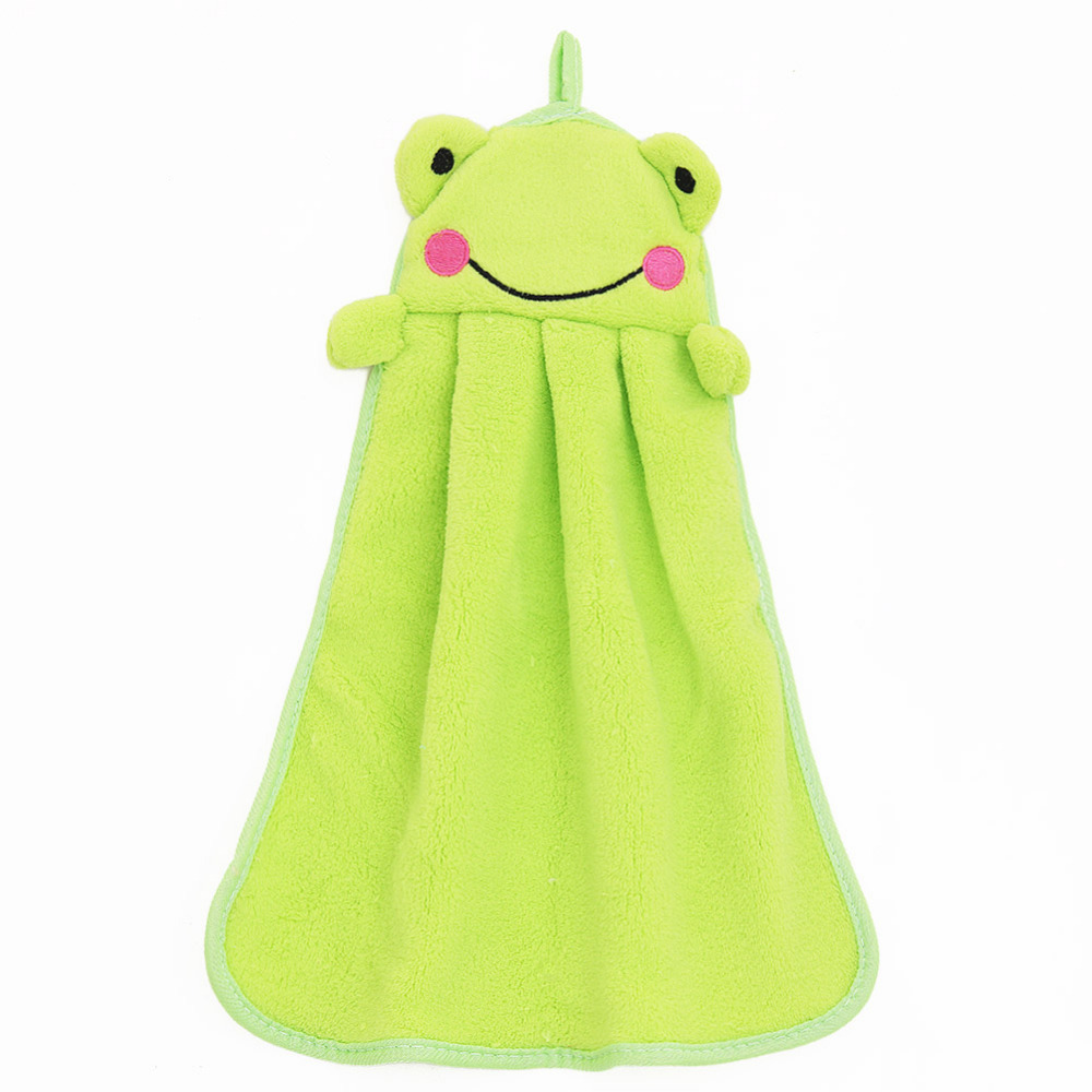 2015 New Cute Animal Microfiber Kids Children Cartoon Absorbent Hand Dry Towel Lovely Towel For Kitchen Bathroom Use(China (Mainland))