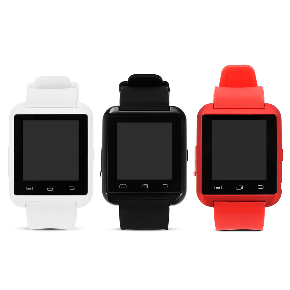 Bluetooth Smart Watch Anti-lost Handsfree Call Message Reminder Pedometer Clock Music Play Barometer For IOS Android AC379-382(China (Mainland))