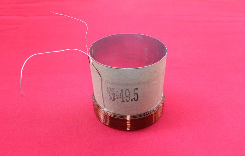 49.5mm 6 Layer stents:White aluminous,loudspeaker / speaker voice coil(China (Mainland))
