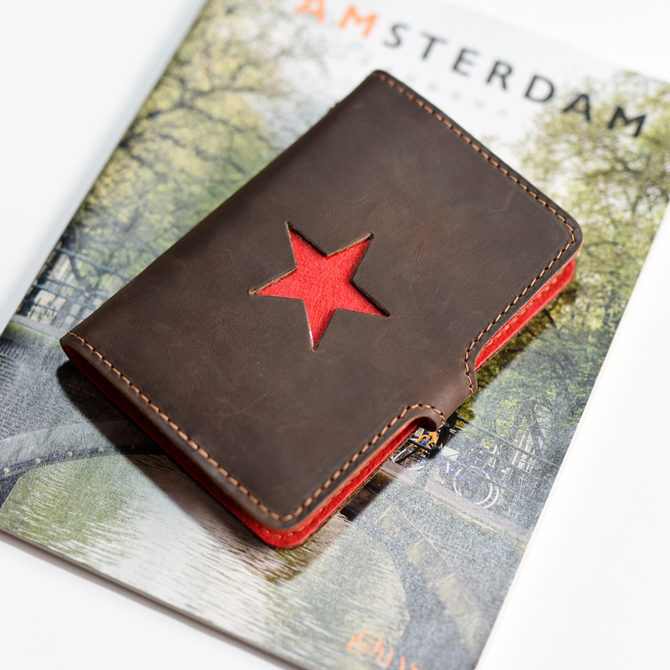 A7 retro tin loose-leaf manual / handmade leather notebook / Notepad travel notebook
