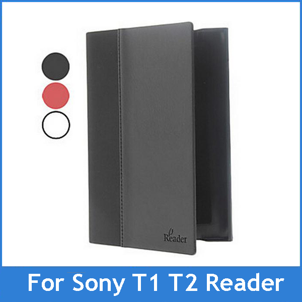For Sony PRS-T1 PRS-T2 Digital Ebook Reader case Leather Cover for Sony prs t1 t2 Ebook Reader Free Shipping(China (Mainland))