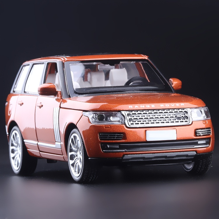 High Simulation Exquisite Collection Toys: CaiPo Car Styling Range Rover Off-Road Model 1:32 Alloy SUV Car Model Best Gifts(China (Mainland))