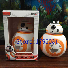Boxed Toys Light Star Wars The Force Awakens Action Figure bb 8 Brinquedos Sphero bb-8 Juguetes Droid Star Wars bb8 Robot Toys(China (Mainland))
