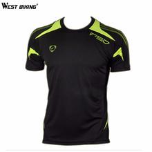 Buy WEST BIKING Bicycle Jersey Mens Bike Shirts Slim Shirts Male T-shirt Men Quick Dry Shirts Running Sports Short Sleeve Jersey for $8.25 in AliExpress store