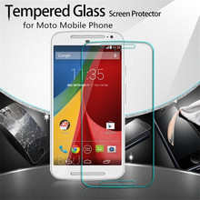 Ultrathin Front Premium Tempered Glass 0.3mm Screen Protective Film Motorola MOTO G / G2 G3 E E2/ X X2/RAZR M XT907 - Jack union store