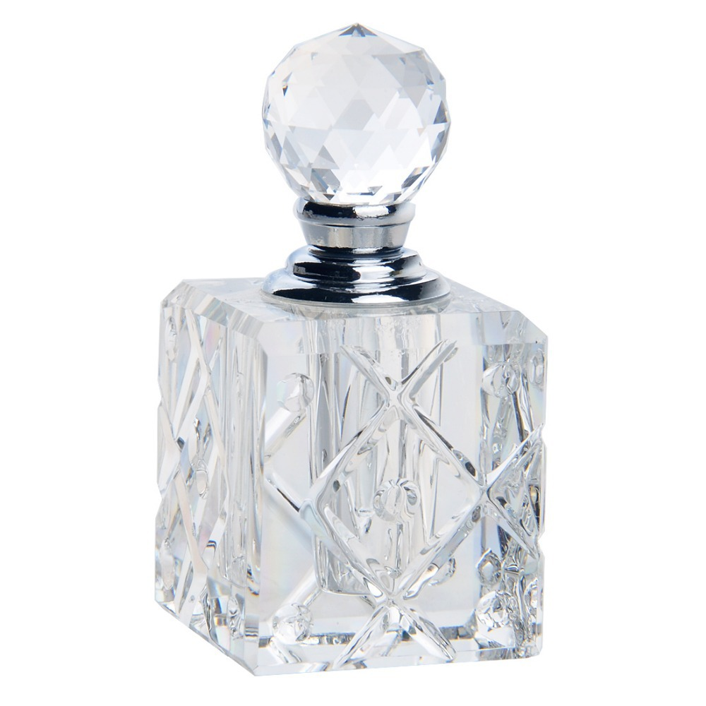 Crystal Sample Bottle Travel Empty Perfume Containers