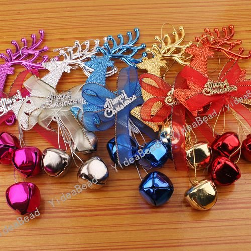 Christmas bells decorations lookup beforebuying for Jingle bell christmas ornament crafts