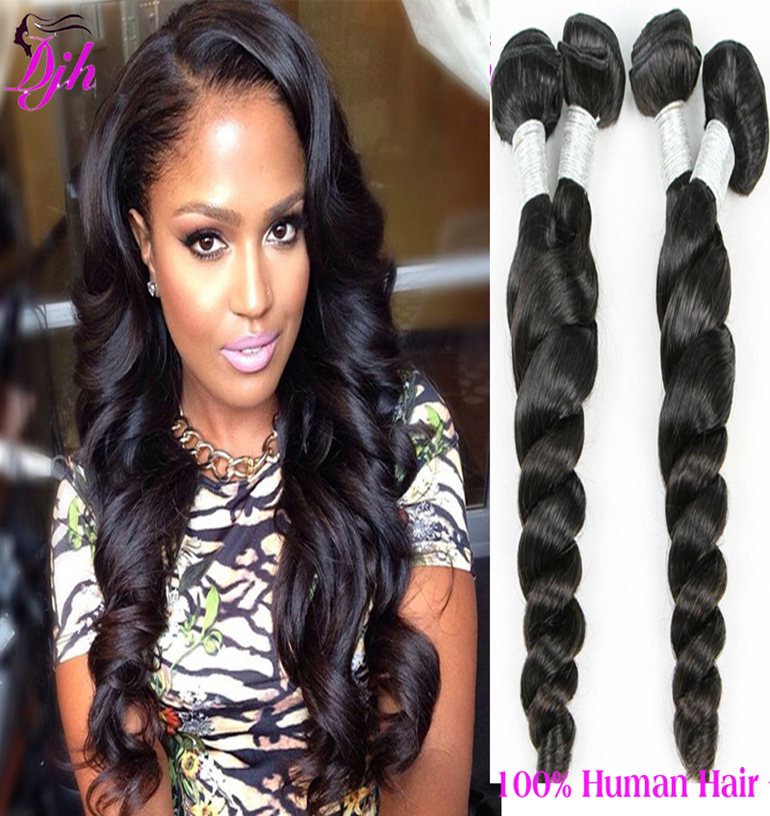 Peruvian Virgin Loose Body Wave Hair 8a Grade Loose Wave Virgin Hair Unprocessed Peruvian Loose Wave 4 Bundles Soft Hair Weave(China (Mainland))