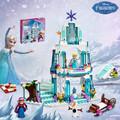 Girl Series SY373 Elsa s Sparkling Ice Castle Anna Elsa Queen Kristoff Olaf Building Blocks Toys